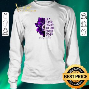 Official Anemone in this family no one fights alone Epilepsy Awareness shirt sweater 2