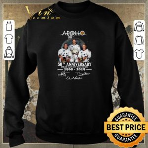 Official Apollo 50th anniversary first Man on the moon 1969-2019 signature shirt sweater 2