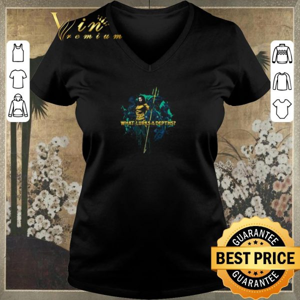 Official Aquaman Movie What Lurks in the Depths shirt sweater