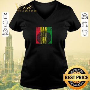 Official Aquarius Girl Jamaican Black Girl Rasta shirt sweater 1