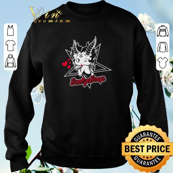 Official Betty Boop BeelfeBoop shirt sweater