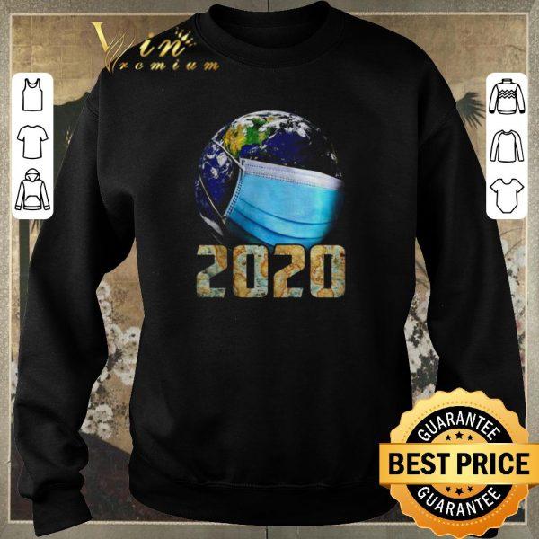 Official Coronavirus The Earth mask 2020 shirt sweater