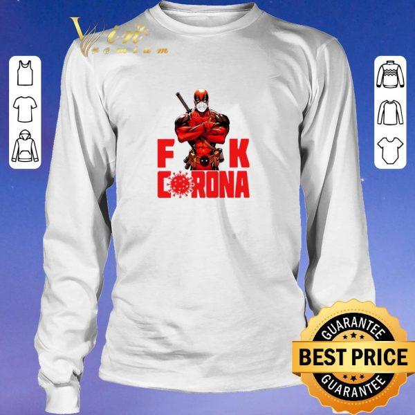 Official Deadpool fuck Coronavirus Covid-19 shirt sweater