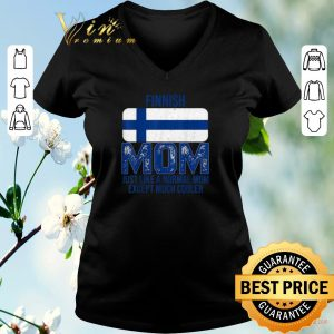 Official Finland Flag Finnish mom Mother's Day shirt sweater 1
