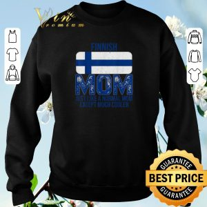 Official Finland Flag Finnish mom Mother's Day shirt sweater 2