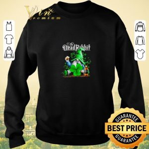 Official Gnome The Dead Rabbit Irish Whiskey St. Patrick's day shirt sweater 2