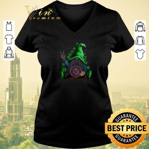 Official Gnomes lucky hug Washington National St. Patrick's day shirt sweater 1