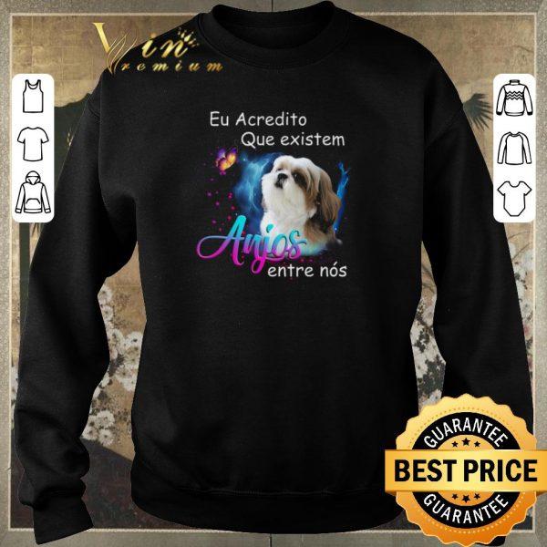 Official Shih Tzu Eu Acredito Que existem anjos entre nos shirt sweater