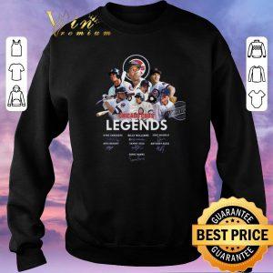 Original Logo Chicago Cubs Legends signatures Greg Maddux Kris Bryant shirt sweater 2