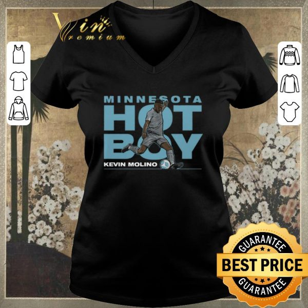 Original Minnesota Hot Boy Kevin Molino shirt sweater