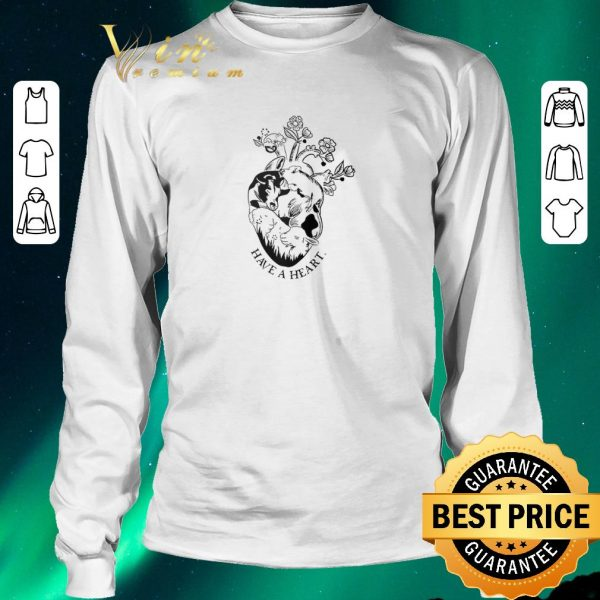 Original Pig and cow have a heart shirt sweater