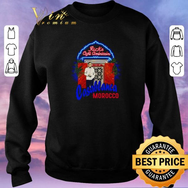Original Rick's Cafe Americain Casablanca Morocco shirt sweater