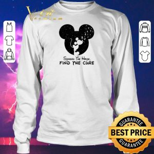 Original Spread The Hope Find The Cure Breast Cancer Awareness Mickey Mouse shirt sweater 2