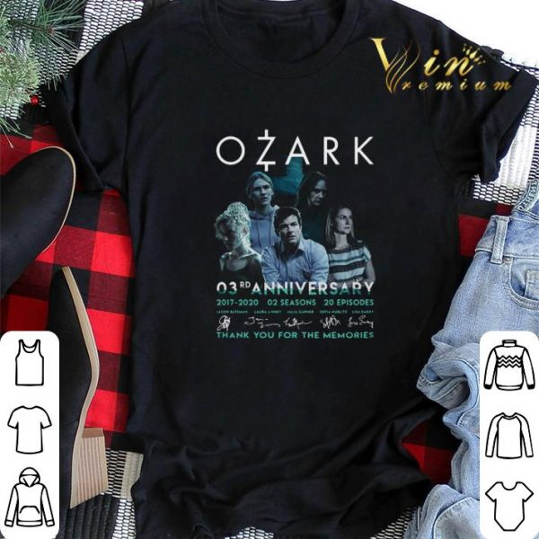 Ozark 03rd anniversary 2017 2020 02 seasons 20 ep signatures shirt sweater