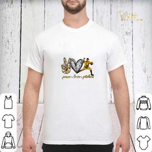 Peace love pitcher shirt sweater 2