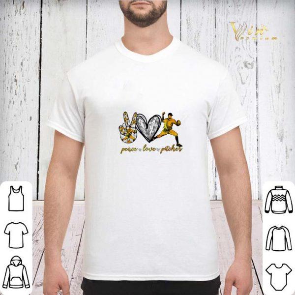Peace love pitcher shirt sweater