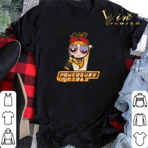 Powerpuff girls blossom drinking Jack Daniel's shirt sweater 1