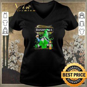 Premium Gnome and Bushmills Irish Whiskey shamrock St Patrick's Day shirt sweater 1