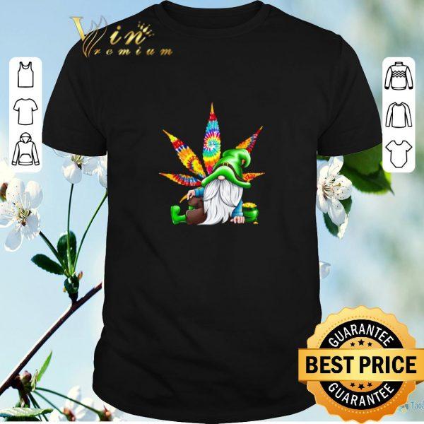 Premium Gnomes irish weed hippie st. patrick's day shirt sweater