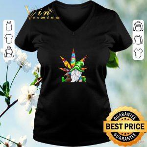 Premium Gnomes irish weed hippie st. patrick's day shirt sweater 1