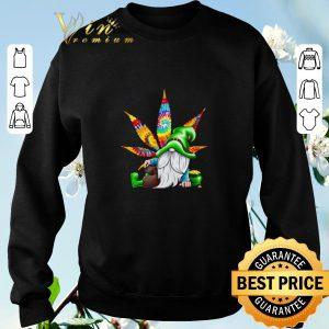 Premium Gnomes irish weed hippie st. patrick's day shirt sweater 2