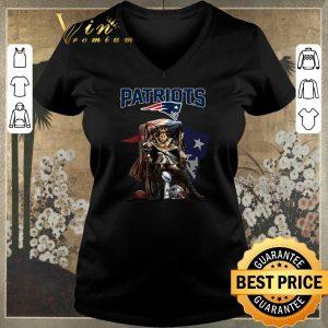 Premium King of North Tom Brady sitting Iron Throne New England Patriots shirt sweater 1
