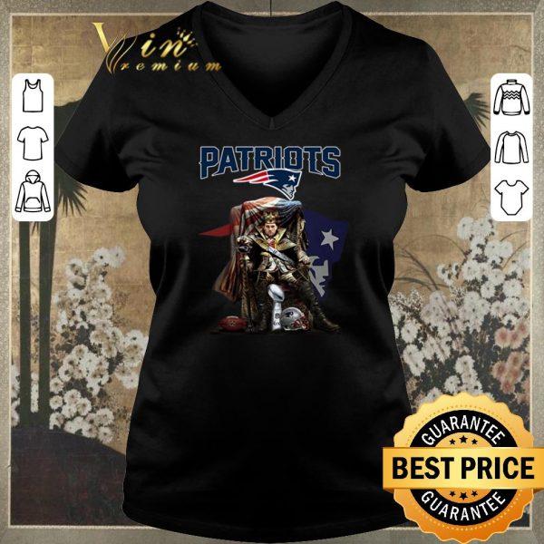 Premium King of North Tom Brady sitting Iron Throne New England Patriots shirt sweater