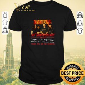 Premium Pantera 39th anniversary 1981 2020 signatures thank for memories shirt sweater