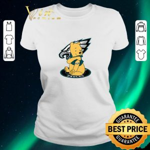 Premium Pooh tattoos Philadelphia Eagles logo shirt sweater 1