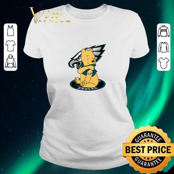Premium Pooh tattoos Philadelphia Eagles logo shirt sweater