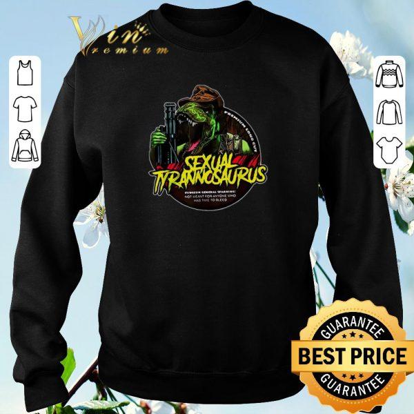 Premium Sexual Tyrannosaurus premium long cut shirt sweater