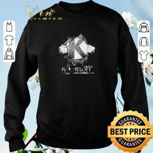 Premium Tearing Kaamelott inside me shirt 2