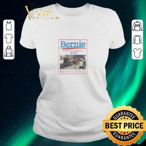 Pretty Bernie Sanders Feel the Burn 2020 Make America Venezuela shirt sweater 1