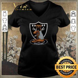 Pretty Boxer tattoo Oakland Raiders Logo shirt sweater 1