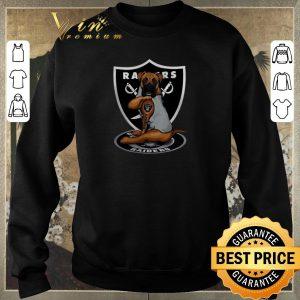 Pretty Boxer tattoo Oakland Raiders Logo shirt sweater 2
