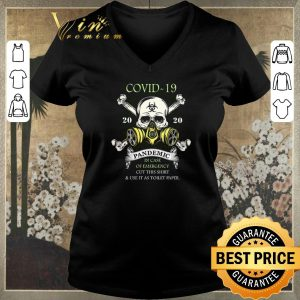 Pretty Covid-19 Corona 2020 pandemic in case of emergency toilet paper shirt sweater 1