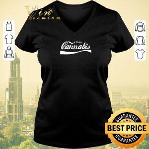 Pretty Enjoy Cannabis Coca Cola Logo shirt sweater 1