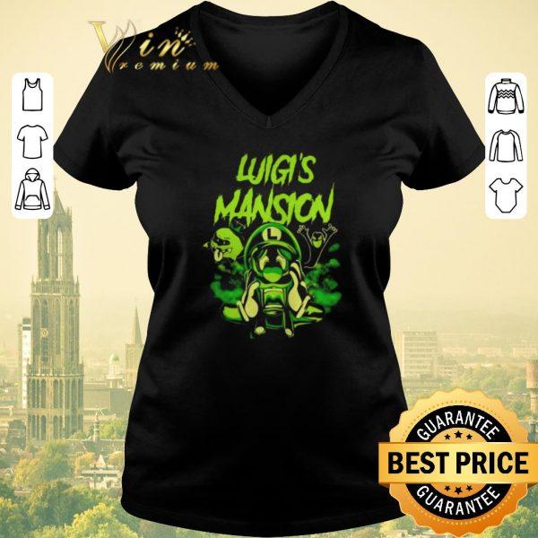 Pretty Luigi's Mansion Super Mario shirt sweater