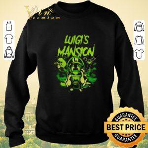 Pretty Luigi's Mansion Super Mario shirt sweater 2