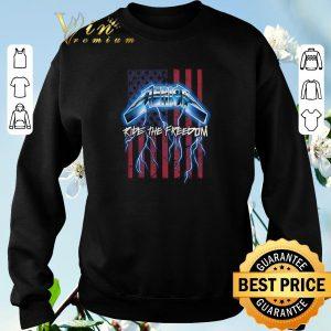 Pretty Metallica Merica Ride The Freedom American Flag shirt sweater 2