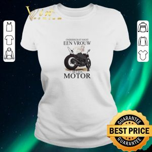 Pretty Onderschat Nooit Een Vrouw Meten Motor shirt sweater
