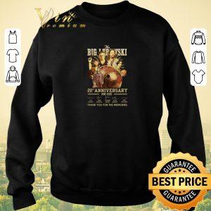 Pretty The Big Lebowski 22nd Anniversary 1998 2020 Signatures shirt sweater 2
