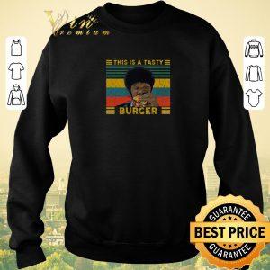 Pretty Vintage Pulp Fiction this is a tasty burger Samuel L. Jackson shirt sweater 2