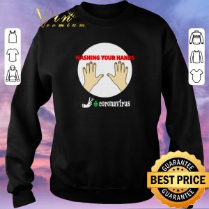 Pretty Washing your hands survived flick off Coronavirus shirt sweater 2