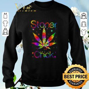 Pretty Weed Marijuana Cannabis Stoner Chick shirt sweater 2