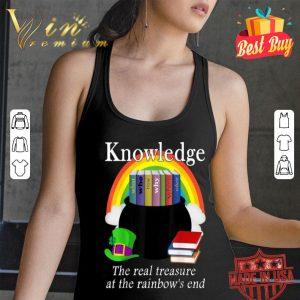 Saint Patrick's Day Teacher Knowledge Is Treasure T-shirt