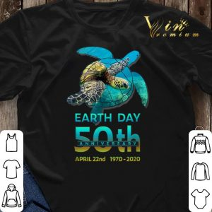 Sea Turtle earth day 50th anniversary april 22nd 1970-2020 shirt sweater 2