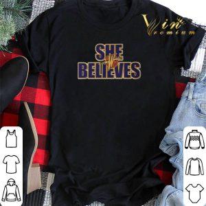 She Believes Golden State Warriors shirt sweater 1