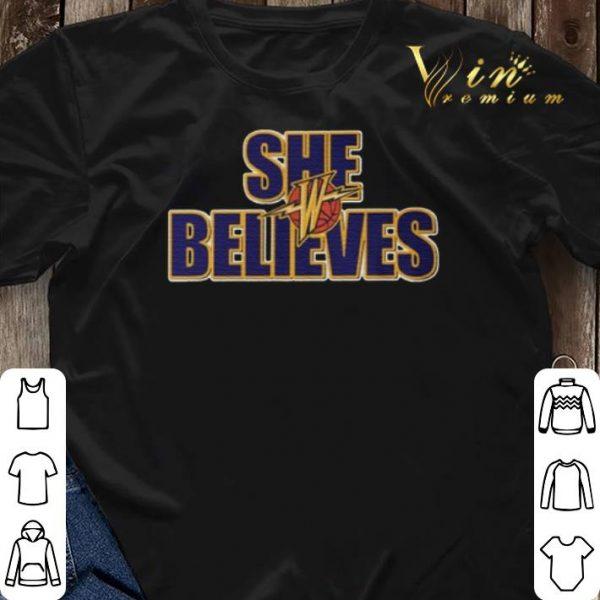 She Believes Golden State Warriors shirt sweater