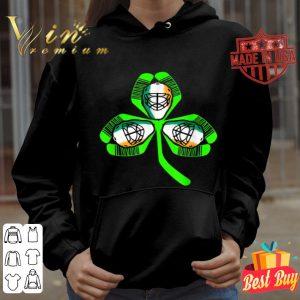 St. Patrick's Day Saint Hat Tricks Hockey Shamrock Kids Boys T-shirt